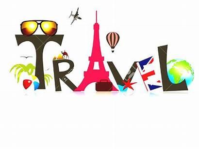 Clipart Adventure Travel Worlds Illustration Suitcase Vector