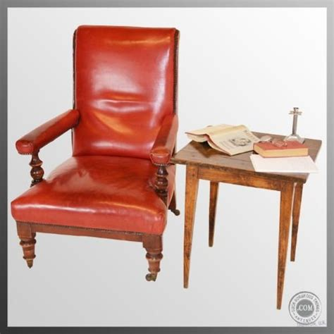 large leather antique armchair club chair with