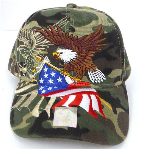 wholesale usa american flag  eagle baseball caps hats