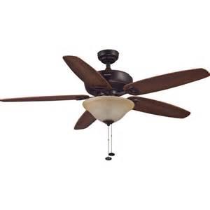 52 quot honeywell carlton ceiling fan rubbed bronze walmart