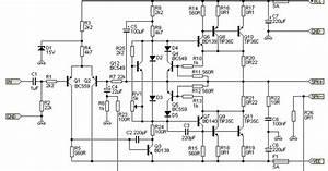 Guitar Amplifier Circuit Diagram 100w