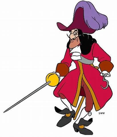 Clipart Hook Captain Pan Peter Villain Pirates