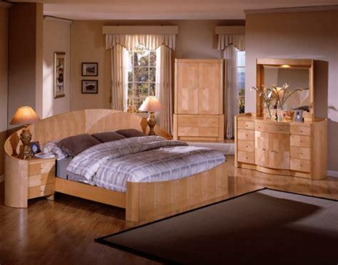 meubles chambre a coucher contemporaine les meubles bois brut la tendence et le style nature sont l 224