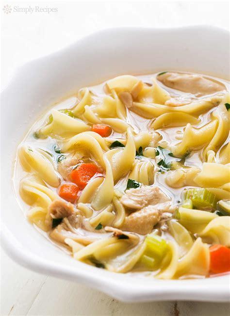 Homemade Chicken Noodle Soup Recipe  Simplyrecipescom