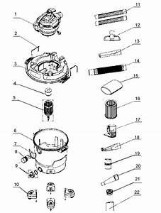 Craftsman 12512008 Wet  Dry Vacuum Parts