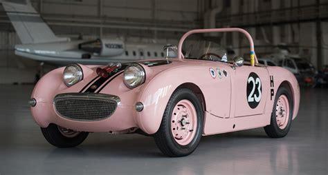 racing car pink lady