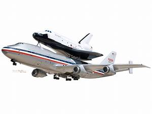 Boeing 747 (SCA) with Space Shuttle Model Space, NASA ...