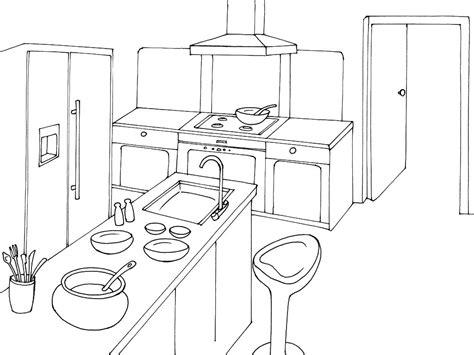 dessin d une cuisine dessins de cuisine à colorier