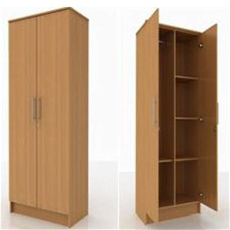 Wooden Wardrobe With Shelves by 2 Door With Shelves Wardrobe Beds And More