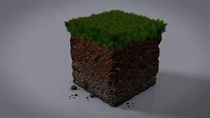 Minecraft Dirt Block by Nalsnag on DeviantArt