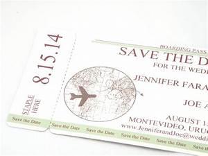 Save The Date Postkarten : bordkarte save the date mit weltkarte und flugzeug ~ Watch28wear.com Haus und Dekorationen