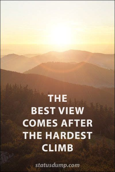 view    hardest climb quotes faith