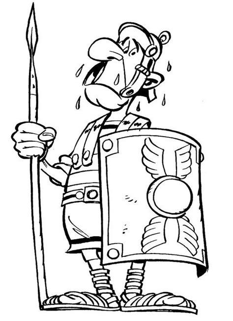 dibujos de asterix  obelix  colorear  imprimir