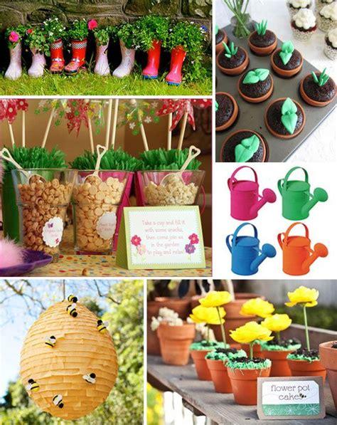garden birthday 9 kid backyard ideas