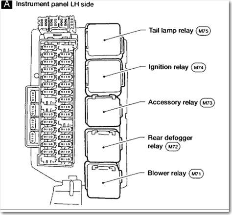2007 Nissan Maxima Fuse Box Diagram by 2002 Altima Fuse Box Diagram Schematic Diagrams