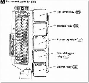 2002 Altima Fuse Box Diagram Schematic Diagrams