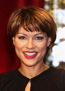 Kate Silverton Short Haircut with Bangs for Women Over 40 ...