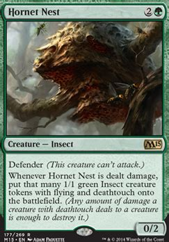 Mtg Insect Deck 2015 by Hornet Nest M15 Mtg Card