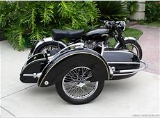 1951 Vincent Rapide and Steib Sidecar Classic Motorcycles