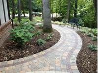 interesting patio design ideas using pavers Garden Pathway Design Ideas with Some Natural Stones Trails - Ideas 4 Homes