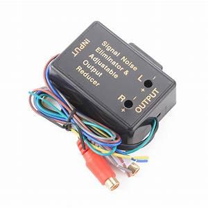 Car Audio Radio High Level Wire To Rca Line Converter