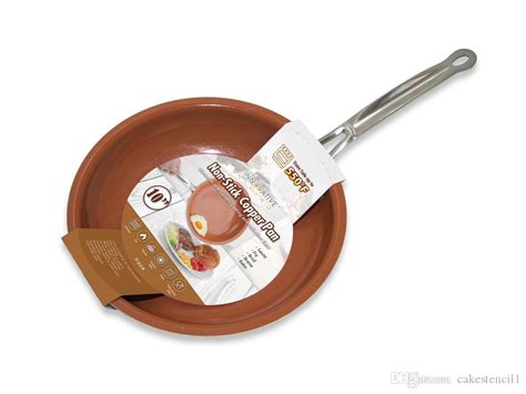 high quality  stick copper frying pan  ceramic coating  induction cooking oven