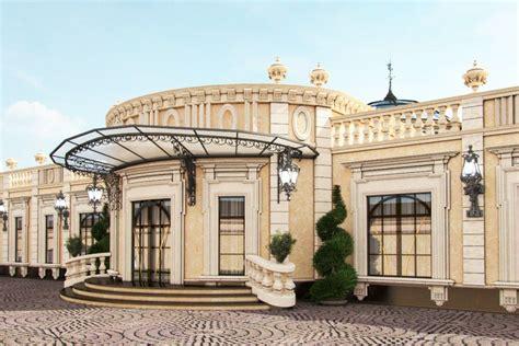 Mansions Designs by Professional Exterior Design In Qatar By Antonovich Design