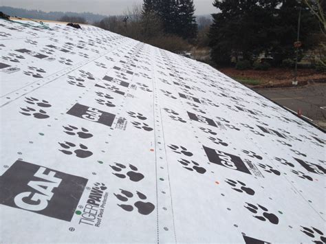 why use a synthetic underlayment on your new roof pnw