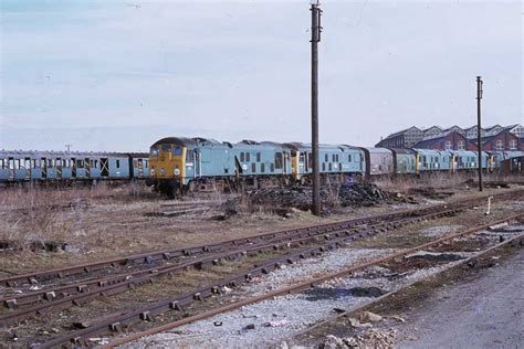 Scrap Yard Glasgow by A Typical View Of The Works Yards Showing A Line Up Of