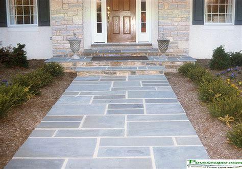 walkway paver patterns pennsylvania bluestone patios and
