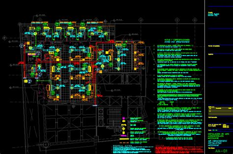 air conditioning group office dwg block  autocad
