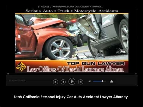 St. George Utah California Lawyer Attorney Personal Injury