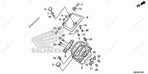Honda Motorcycle 2012 Oem Parts Diagram For Pocket