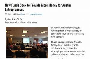 NEWS: New Funds Seek to Provide More Money for Austin ...