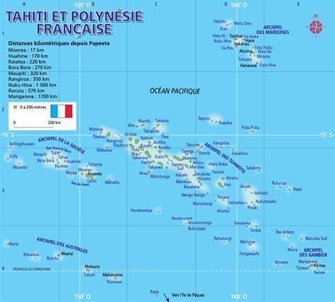 les iles marquises carte guide de voyages