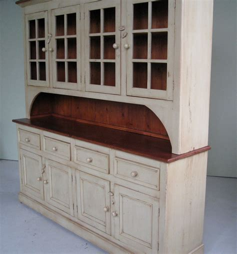 country kitchen hutch country style white kitchen hutch ecustomfinishes 2811