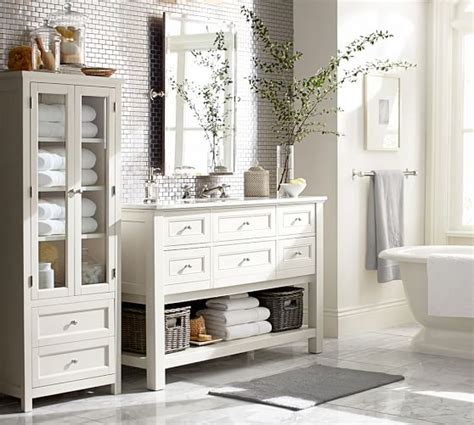 Pottery Barn Bathroom Images by Classic Linen Closet Pottery Barn