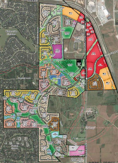 master plan harvest green  richmond tx