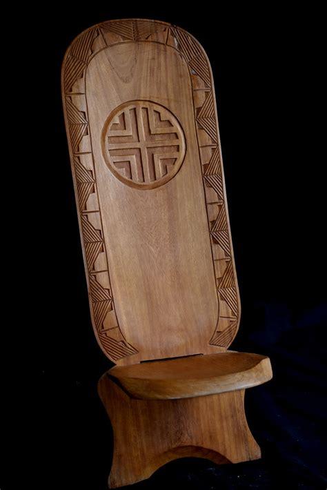 siege africain la chaise à palabre ou chaise de gardien meuble africain