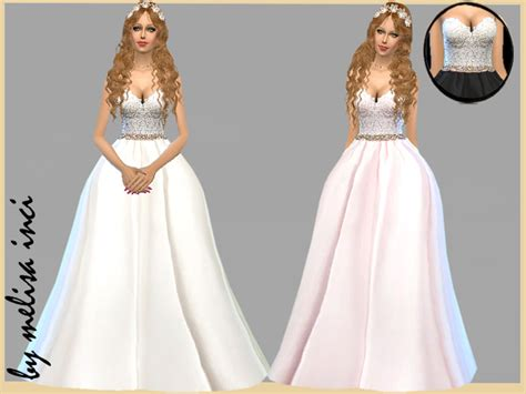 Disney Cars Bedroom Set by Strapless Lace Bodice Wedding Dress By Melisa Inci At Tsr