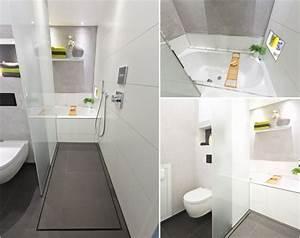 Geflieste Dusche Nachträglich Abdichten : kleines bad offene dusche ~ Orissabook.com Haus und Dekorationen