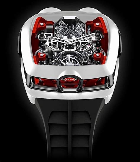 That includes both versions of the special edition model: Jacob & Co. 捷克豹 NEW Bugatti Chiron White 16 Cylinder Piston Engine Tourbillon (Retail:US ...