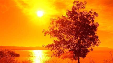 Amazing Sunset View on Lake   HD Wallpapers