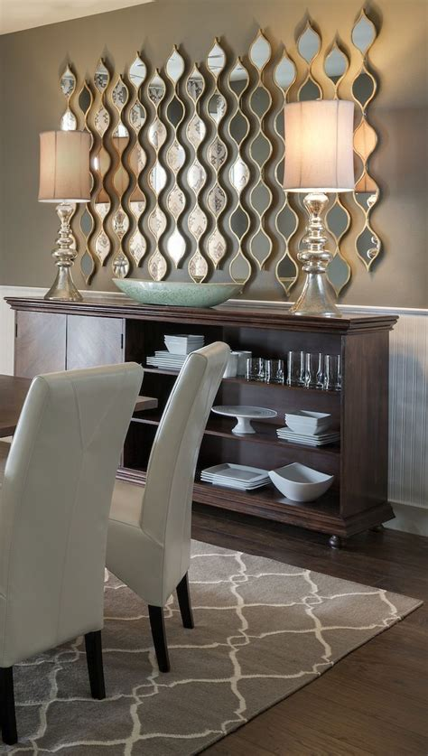 berlian brown living room wall décor charms with mirrors decozilla