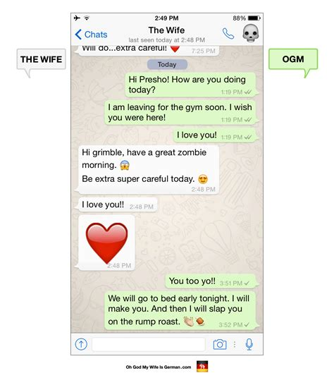 Funny Whatsapp Messages Germany God Wife
