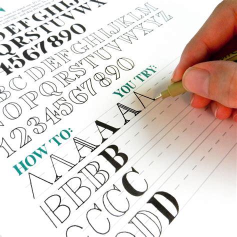 premium hand lettering worksheet set the postman s knock