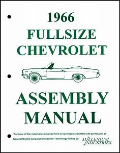 Assembly Manual W   Factory Instruction Guide  1966
