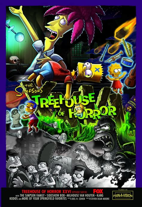 Treehouse Of Horror Xxvi  Simpsons Wiki  Fandom Powered