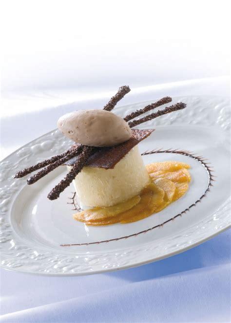 exercice cap cuisine savoir maigrir pétales de pommes rôties caramel parfait glacé vanille et crémeux praliné