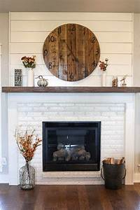 23, Best, Brick, Fireplace, Ideas, To, Make, Your, Living, Room, Inviting, In, 2020